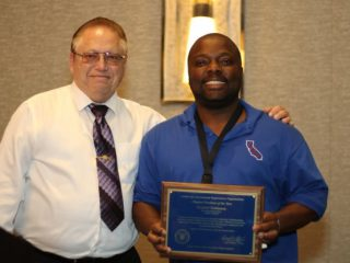 2016 CCSO Chapter President of the Year – Lt. Samuel Robinson (SQ)