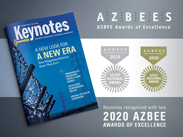 Keynotes Locks In Awards